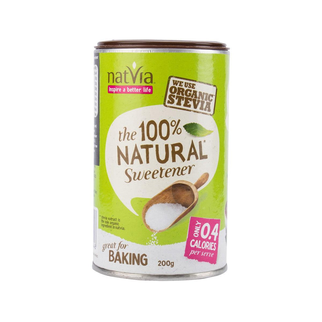 NATVIA The 100% Natural Sweetener - Organic Stevia  (200g)