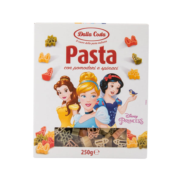 DALLA COSTA Durum Wheat Semolina Pasta With Tomato & Spinach - Princess  (250g)