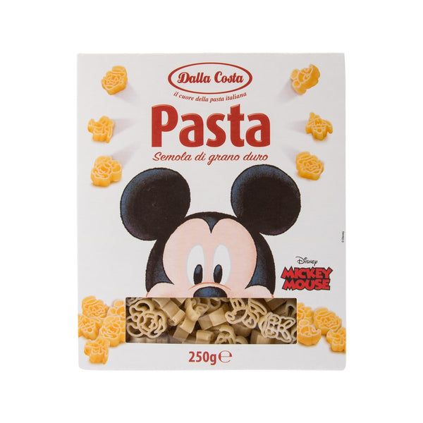 DALLA COSTA Durum Wheat Semolina Pasta - Mickey Mouse & Friends  (250g)