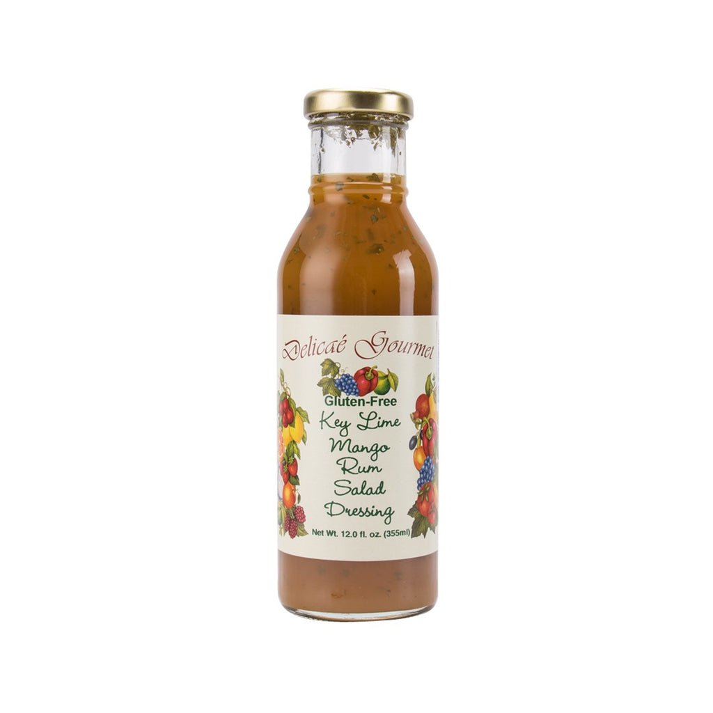 DELICAE GOURMENT Key Lime Mango Rum Salad Dressing  (355mL)