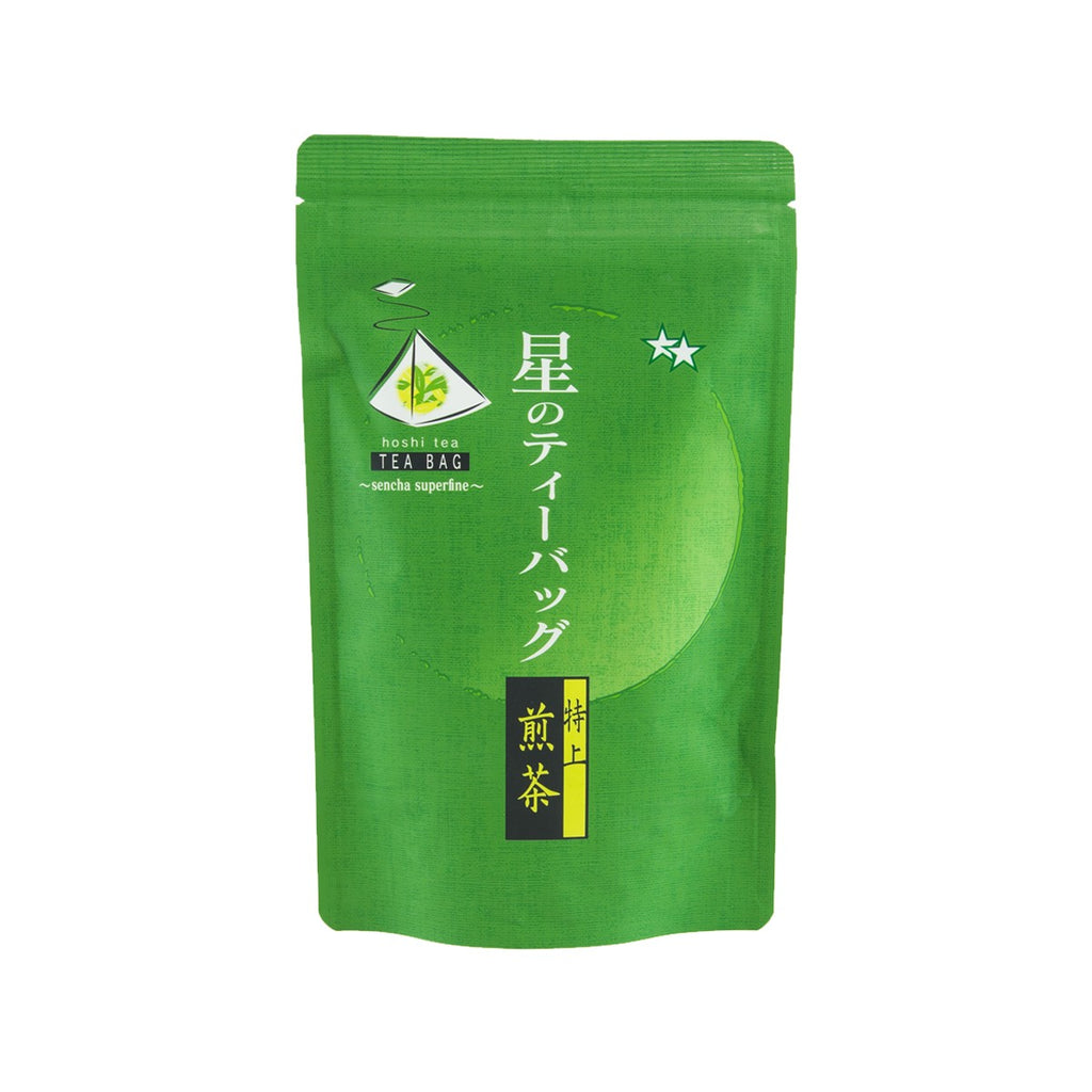 HOSHINO Sencha Superfine Green Tea Bags  (18 x 5g)