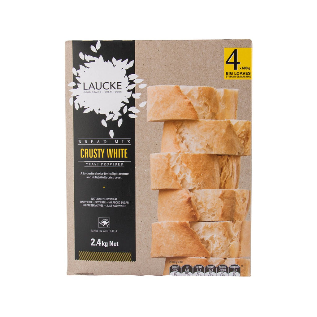 Laucke Bread Mix - Crusty White(2.4kg)