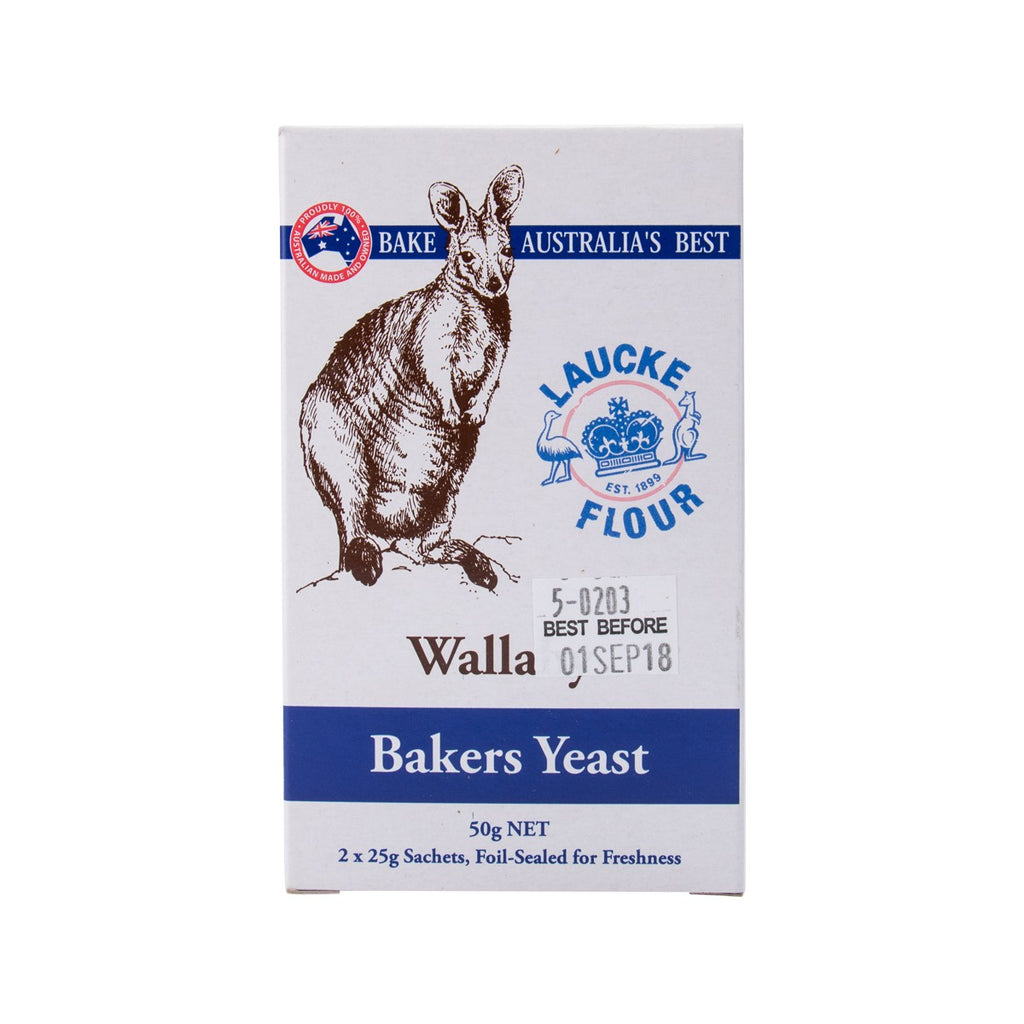 Laucke Wallaby Bakers Yeast(50g)