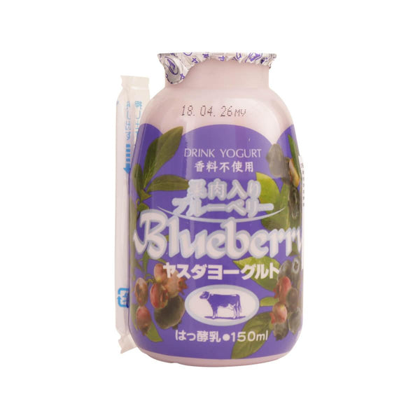 YASUDA Yogurt Drink - Blueberry With Pulp  (150g)