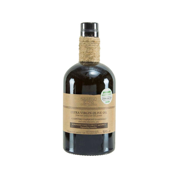 NAVARINO ICONS Extra Virgin Olive Oil  (500mL)