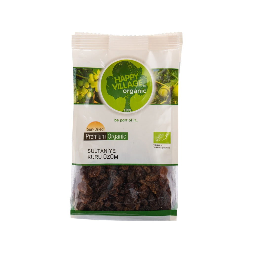 HAPPY VILLAGE Organic Sultanas  (175g)