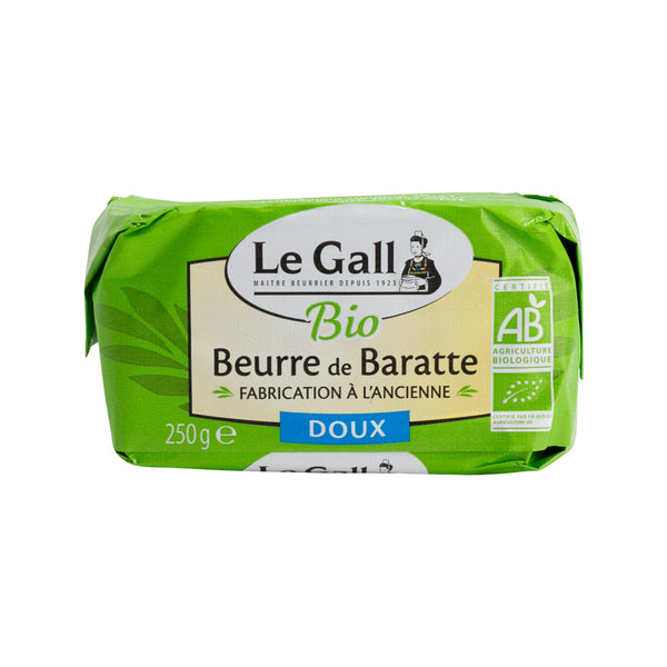 LE GALL Organic Churning Butter - Unsalted  (250g)