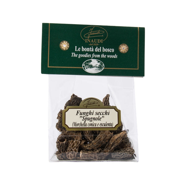 INAUDI Dried Morels Mushrooms  (20g)