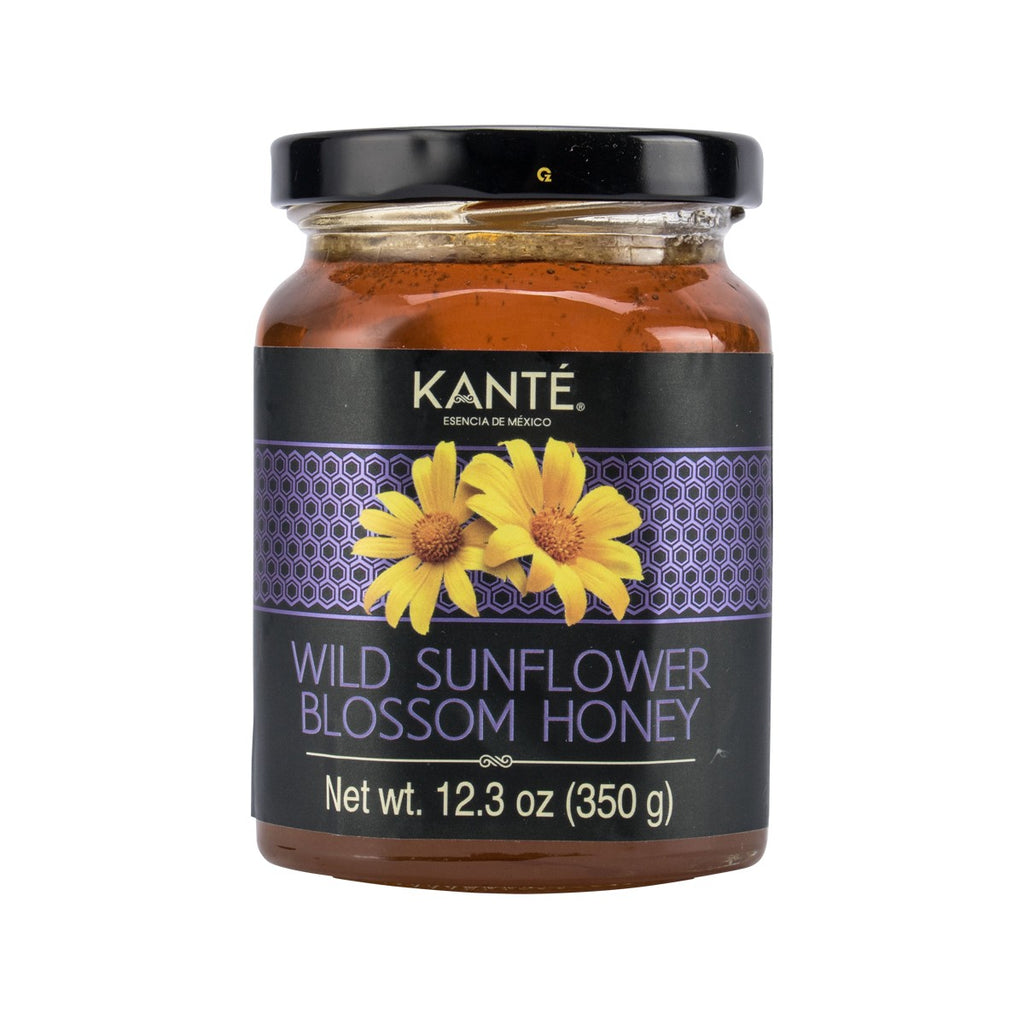 KANTE Wild Sunflower Blossom Honey  (350g)