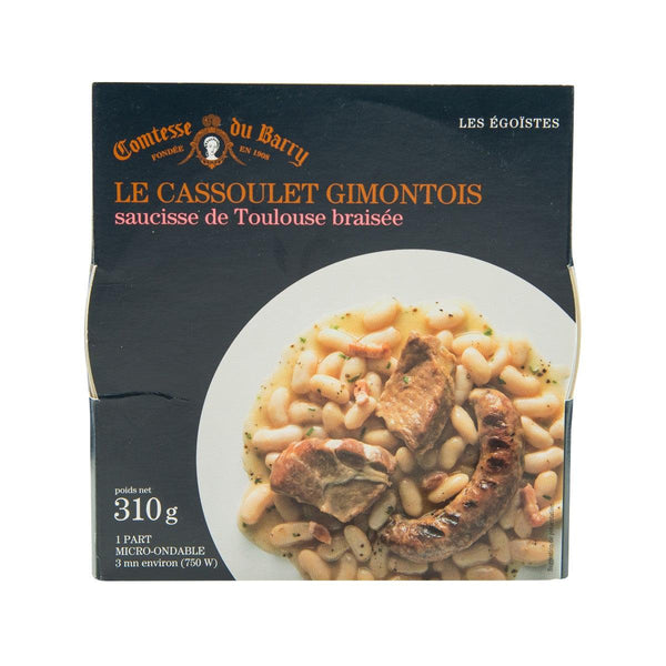 COMTESSE DU BARRY Gimontois Cassoulet with Braised Toulouse Sausage  (310g)