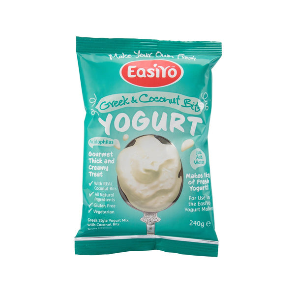 Easiyo Greek Style Yogurt Mix With Coconut Bits(240g)
