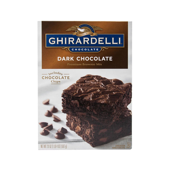 Ghirardelli Dark Chocolate Premium Brownie Mix(567g)