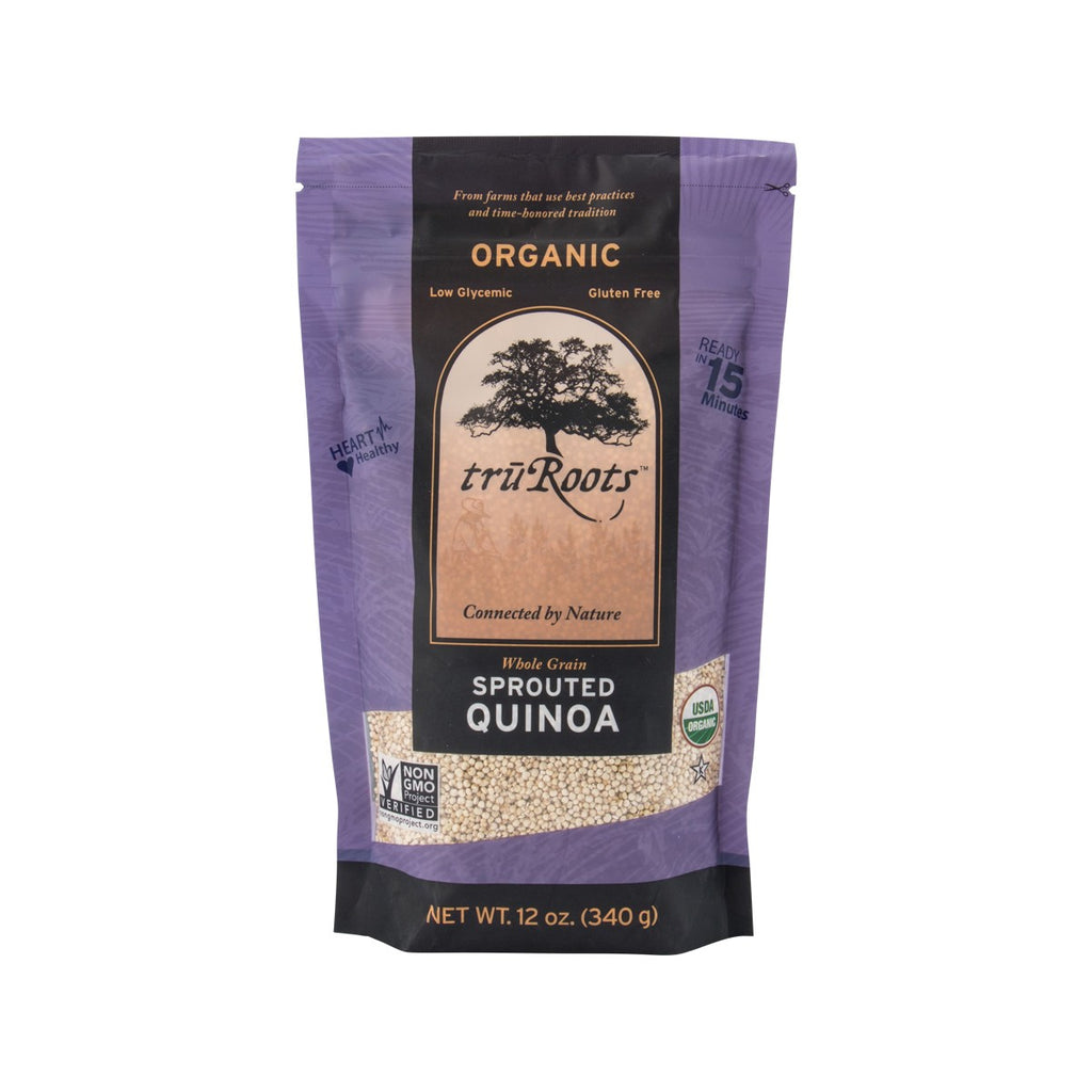 Truroots Organic Whole Grain Sprouted Quinoa(340g)