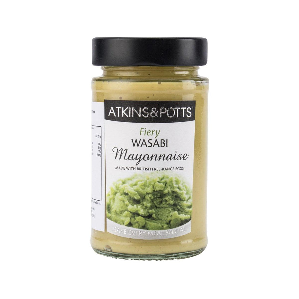 Atkins&Potts Wasabi Mayonnaise(195g)