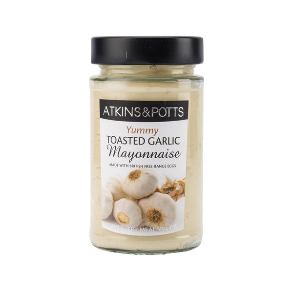ATKINS&POTTS Toasted Garlic Mayonnaise  (205g)