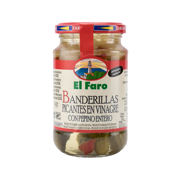 El Faro Assorted Spicy Pickles Skewer In Vinegar(350g)