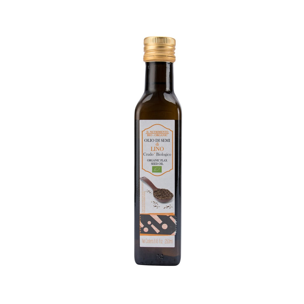 IL NUTRIMENTO Organic Flaxseed Oil  (250mL)