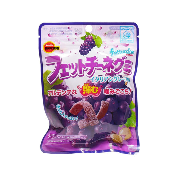 BOURBON Fettuccine Gummi - Grape  (50g)