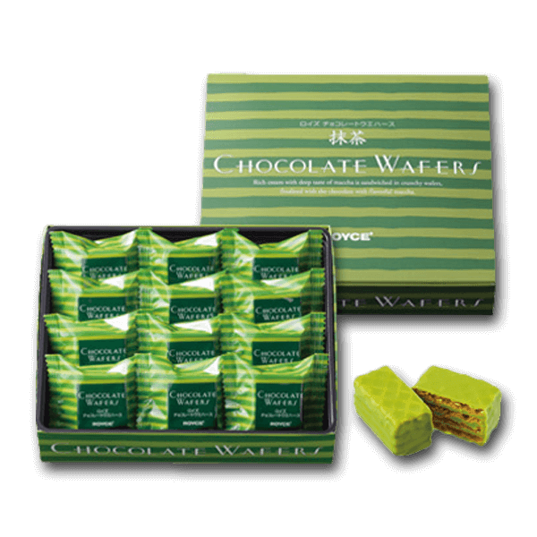 ROYCE' Chocolate Wafers - Matcha Cream  (12pcs)