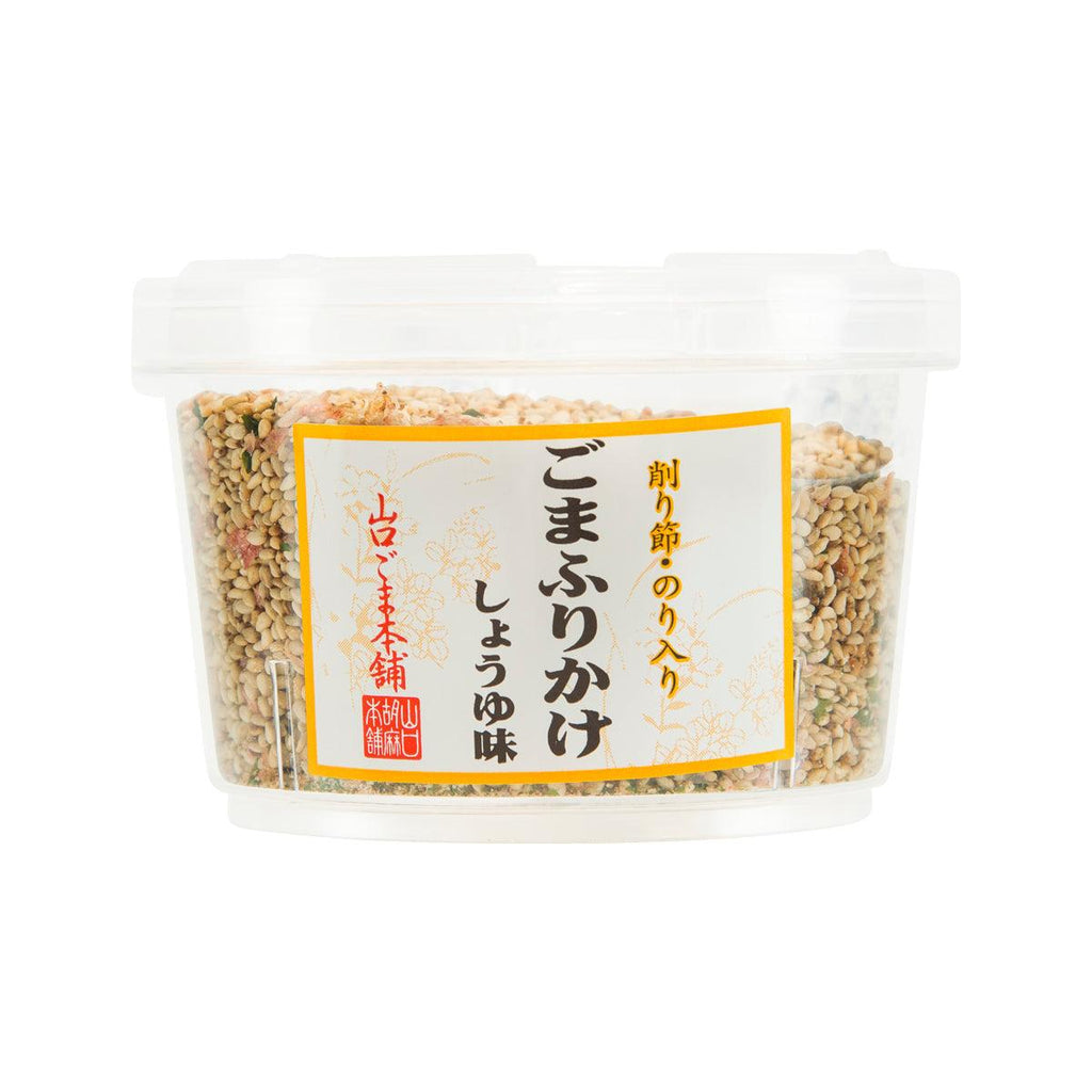 YAMAGUCHIGOMAHONPO Sesame Rice Topping - Soy Sauce Flavor  (80g)