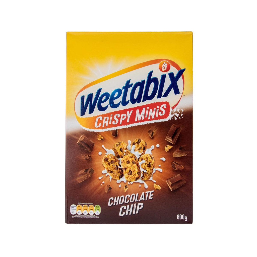 WEETABIX Crispy Minis Chocolate Chip Wholegrain Wheat Cereal  (600g)