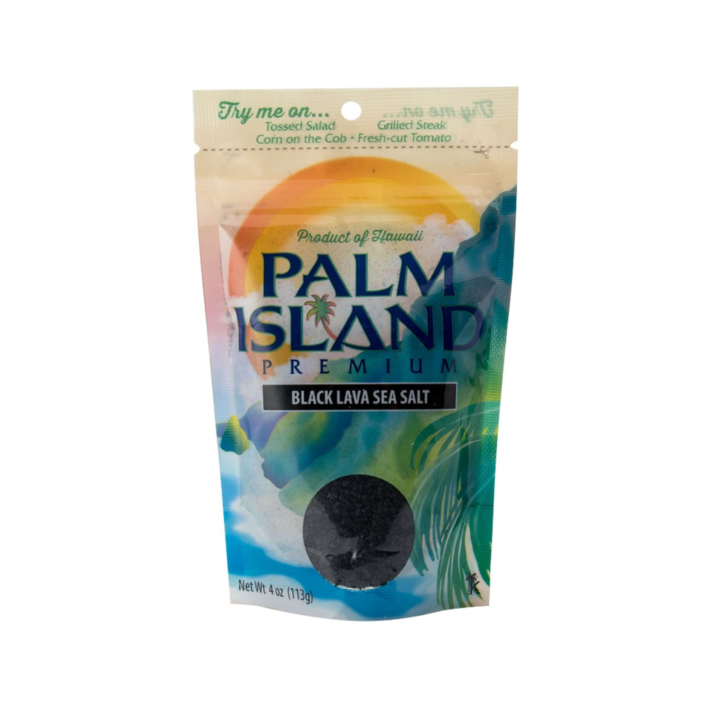 Palm Island Black Lava Sea Salt(113g)