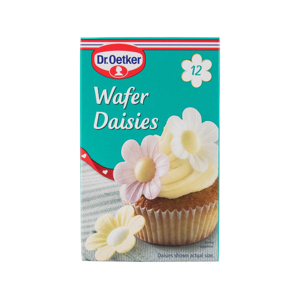 Dr. Oetker Wafer Daisies Edible Flower Shaped Wafer(12pcs)
