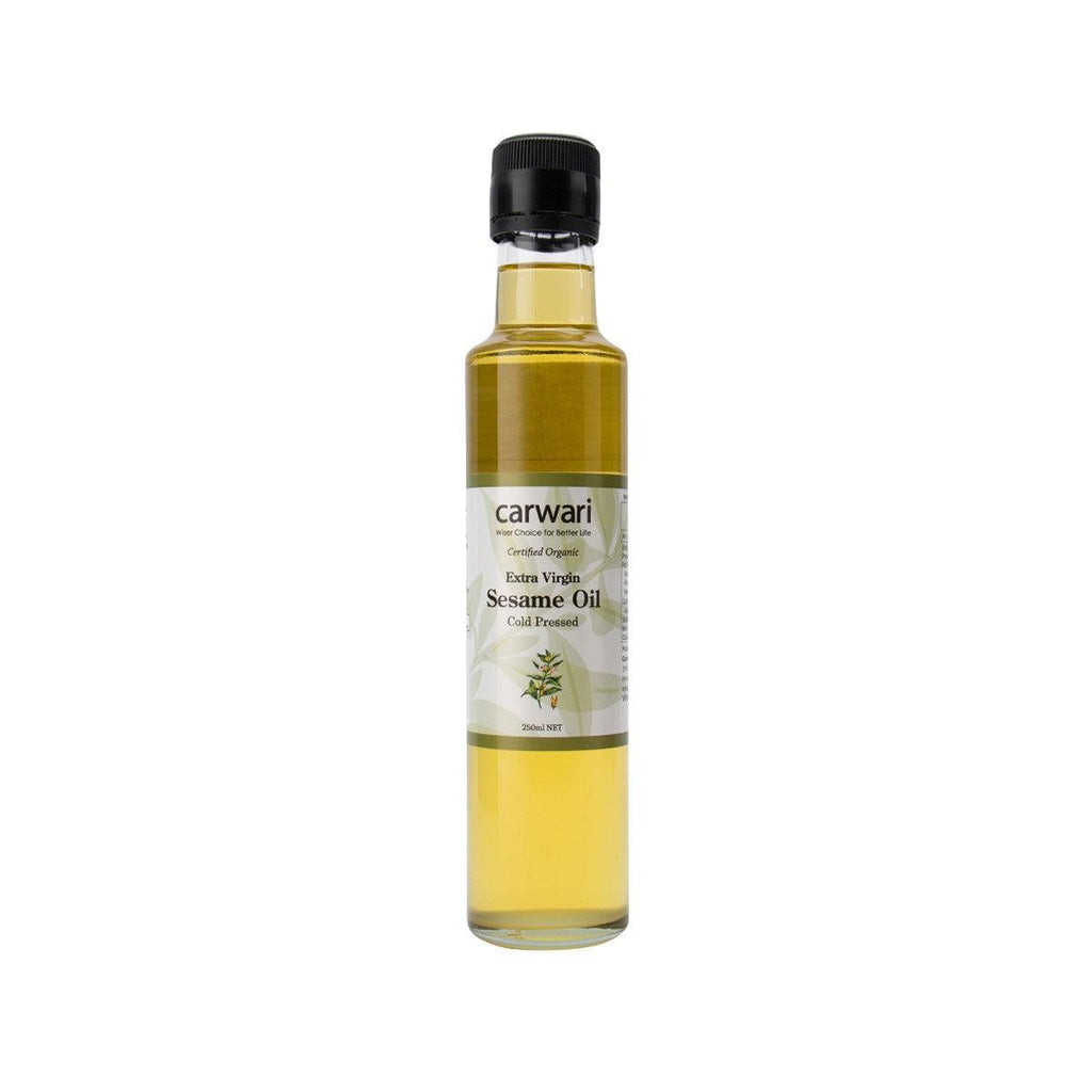 CARWARI Organic Extra Virgin Sesame Oil  (250mL)