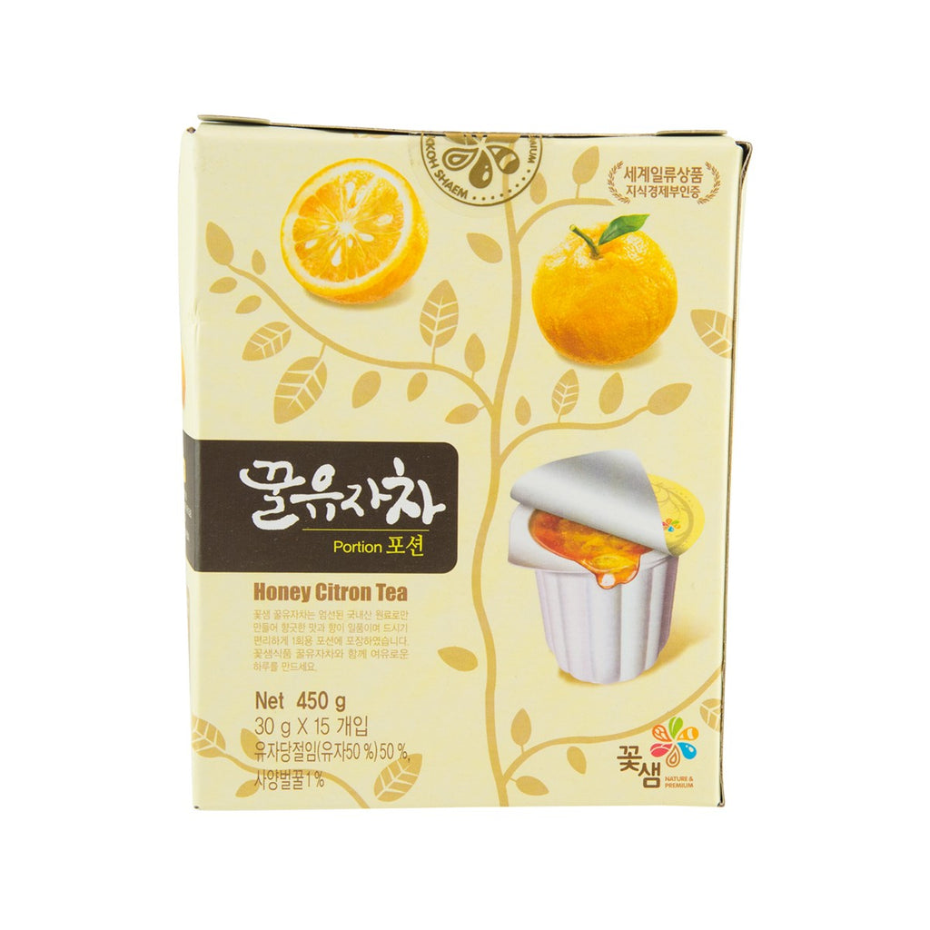 KKOH SHAEM Honey Citron Tea (Portion Pack)  (15 x 30g)