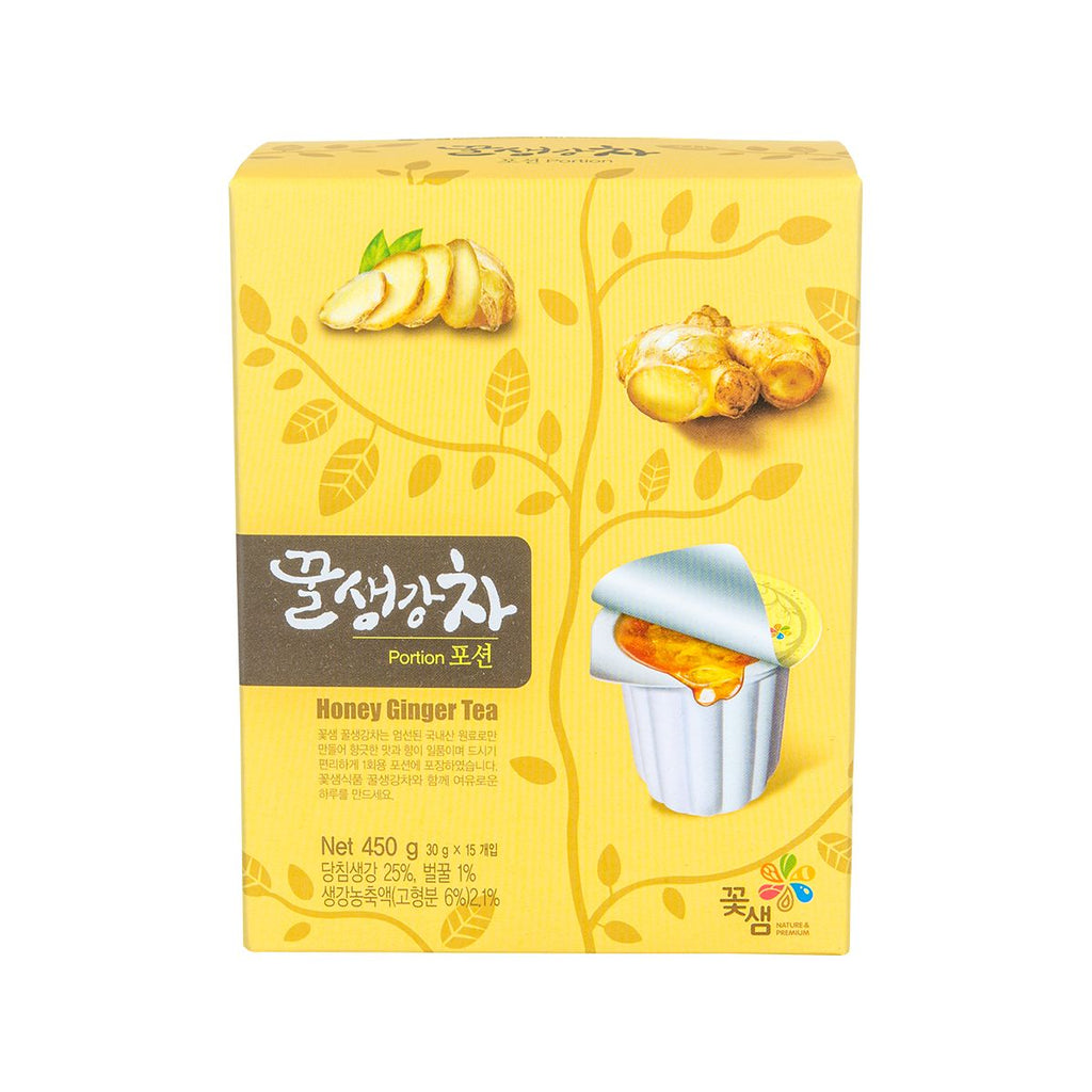 Kkoh Shaem Honey Ginger Tea (Portion Pack)(15 x 30g)