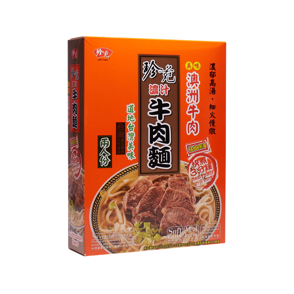 JENYUAN Beef Noodle - Stew In Clear Soup  (760g)