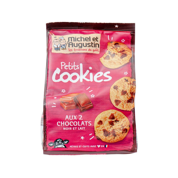 MICHEL & AUGUSTIN Mini Cookies With Dark Chocolate Chunks And Milk Chocolate Chips  (150g)