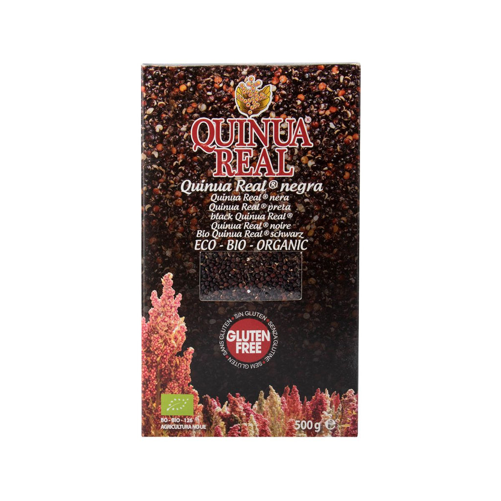 Quinua Real Royal Quinoa Grains - Black(500g)