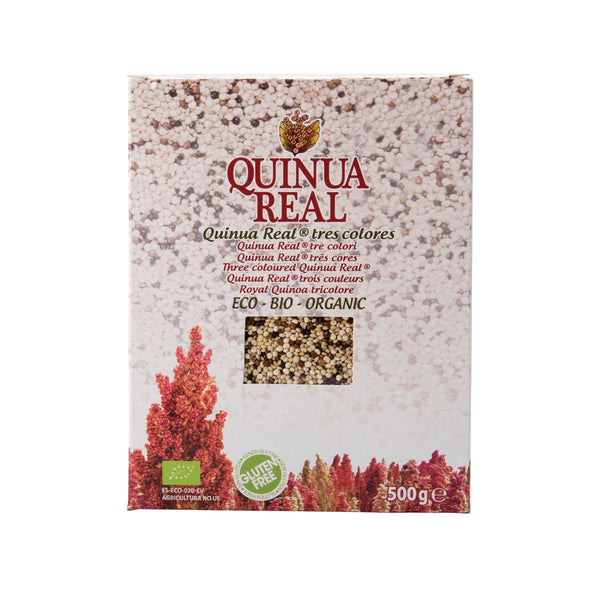 QUINUA REAL Royal Quinoa Grains - Tricolour  (500g)
