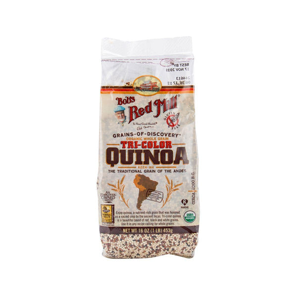 Bob'S Red Mill Organic Whole Grain Tri-Color Quinoa (369g)
