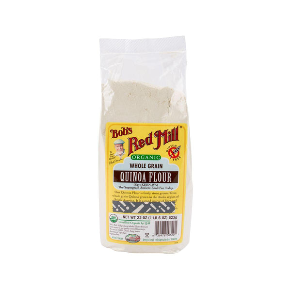 Bob'S Red Mill Organic Whole Grain Quinoa Flour (510g)