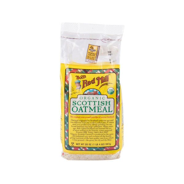 Bob'S Red Mill Organic Scottish Oatmeal(567g)