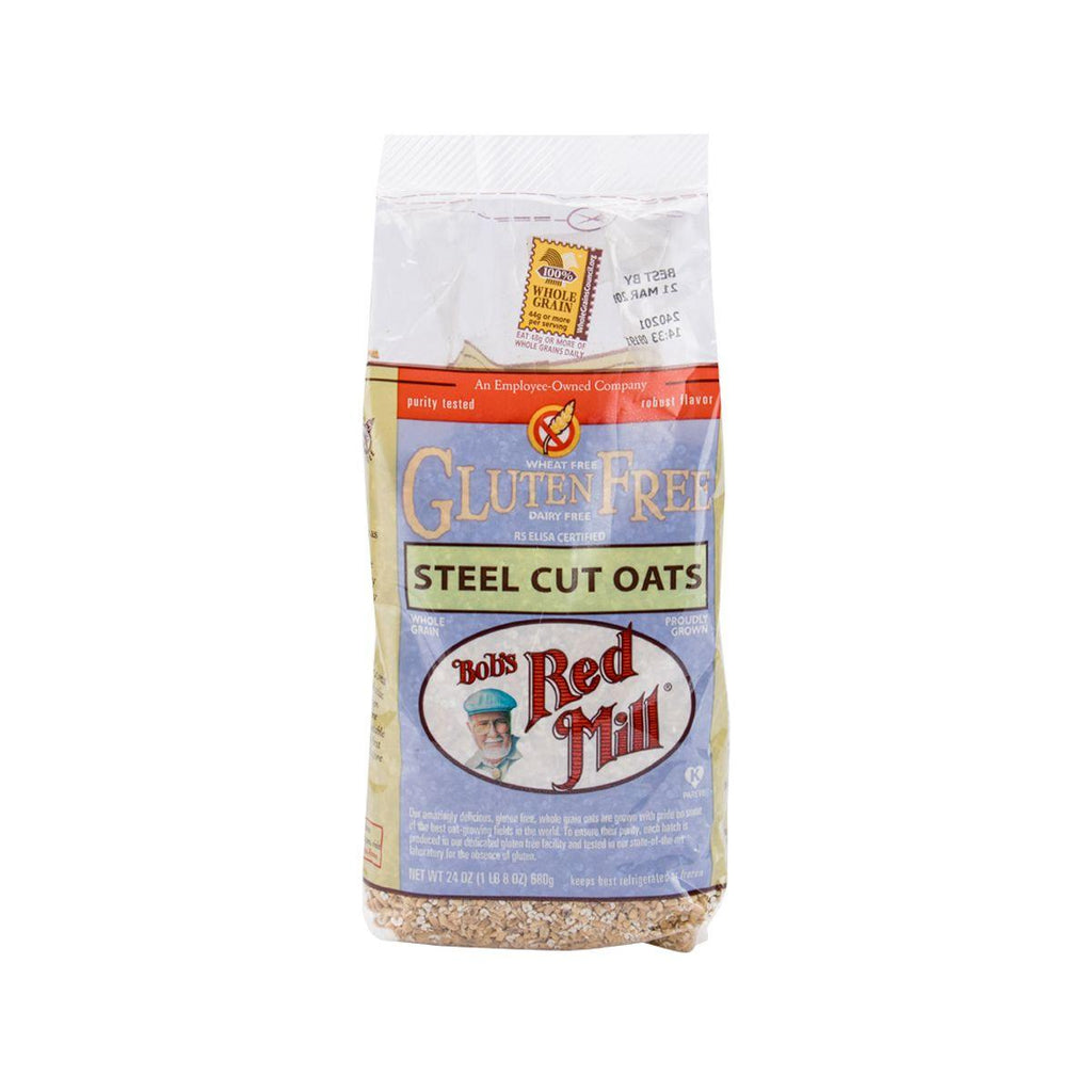 BOB'S RED MILL Gluten Free Steel Cut Oats  (680g)