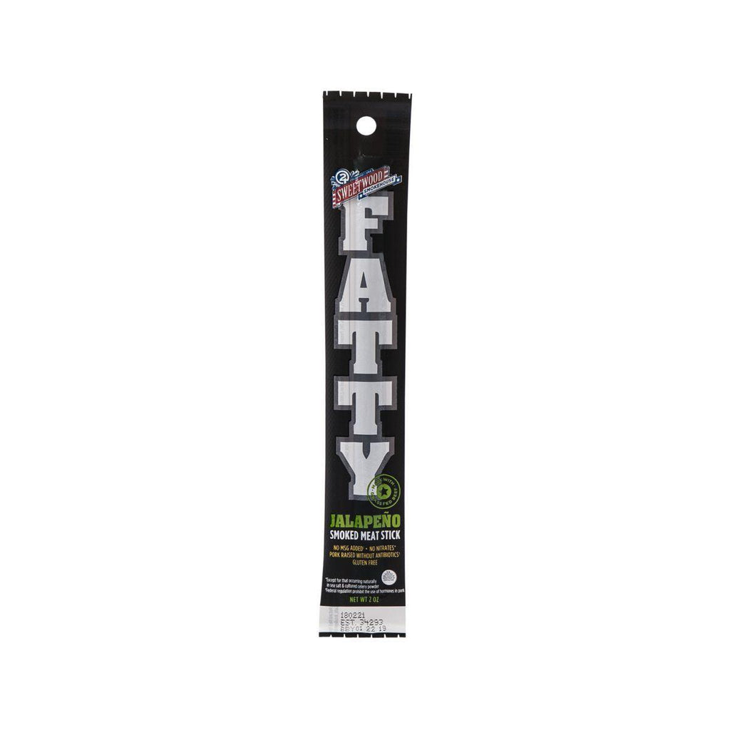 Sweetwood Cattle Co Fatty Flavored Hickory Smoked Meat Stick - Jalapeno(2oz)