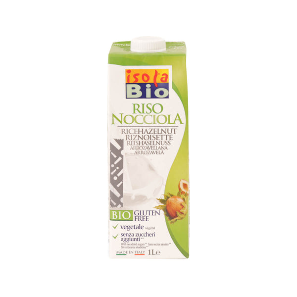 Isola Bio Organic Rice and Hazelnut Drink (1L)