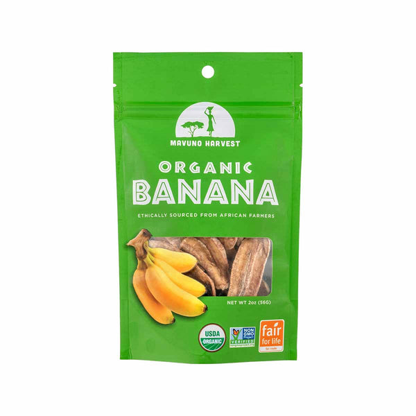 MAVUNO HARVEST Organic Dried Banana  (56g)