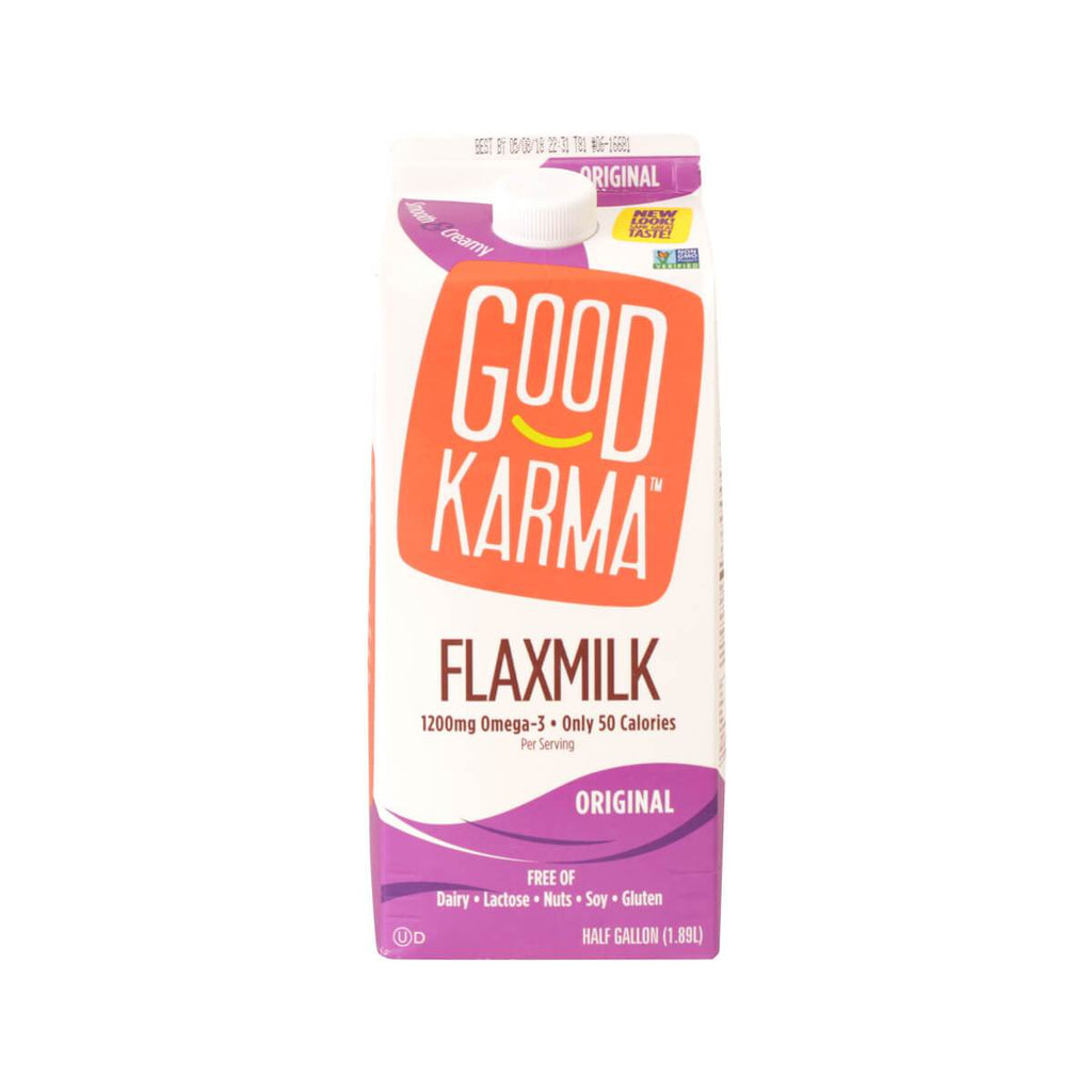 Good Karma Flaxmilk Natural Dairy Free Flax Beverage - Original (1.89L)