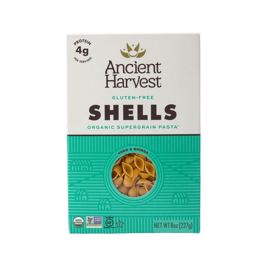 Ancient Harvest Organic Corn-Quinoa Supergrain Pasta - Shells(227g)