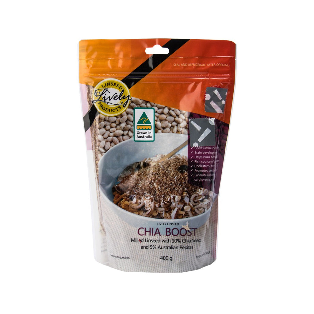 Lively Linseed Chia Boost(400g)