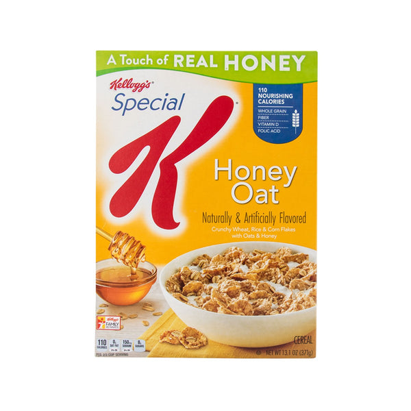KELLOGG'S Special K Oats & Honey Cereal  (374g)
