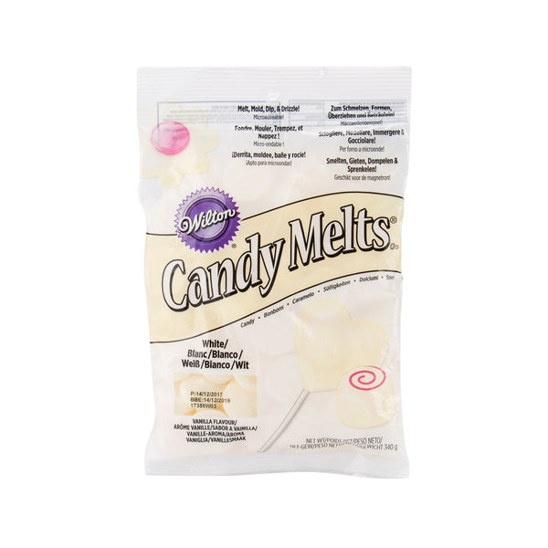 WILTON Candy Melts - White  (340g)