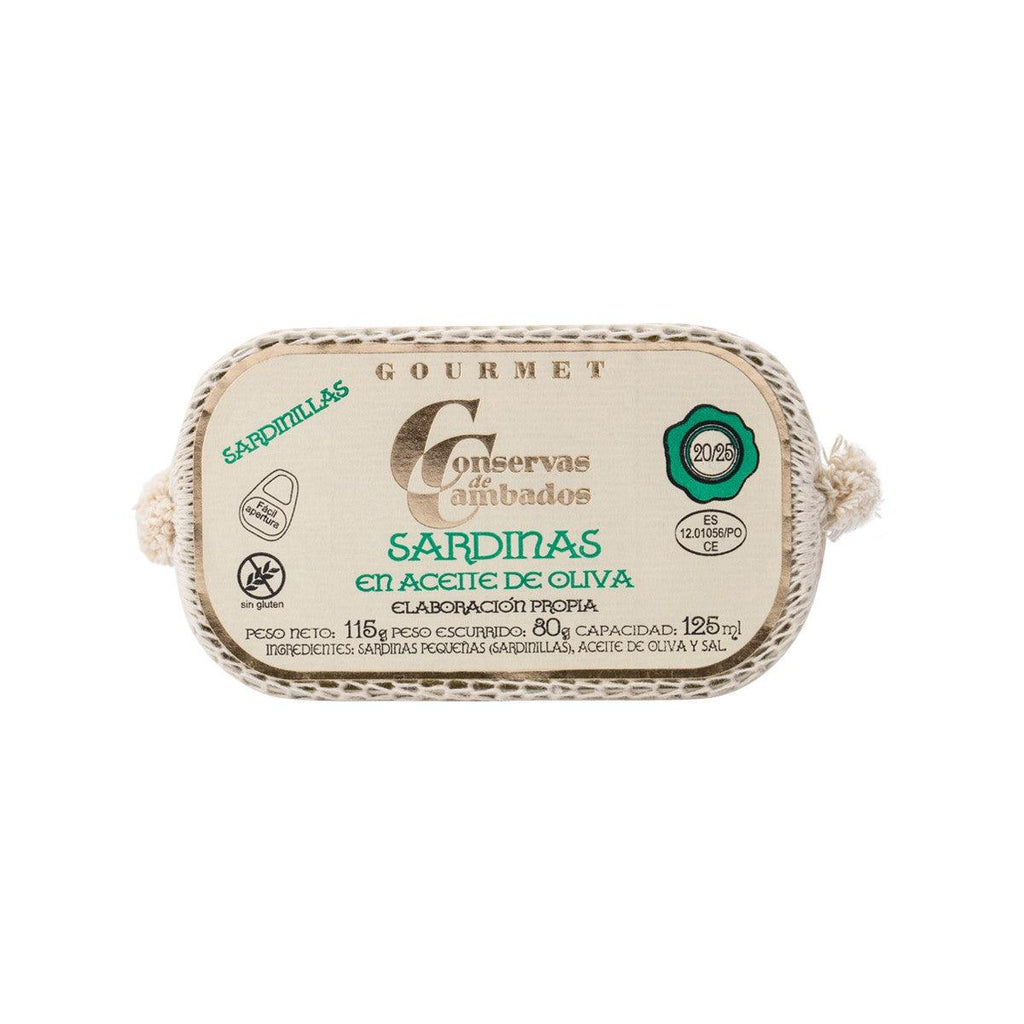 Conservas De Cambados Small Sardines In Olive Oil(115g)