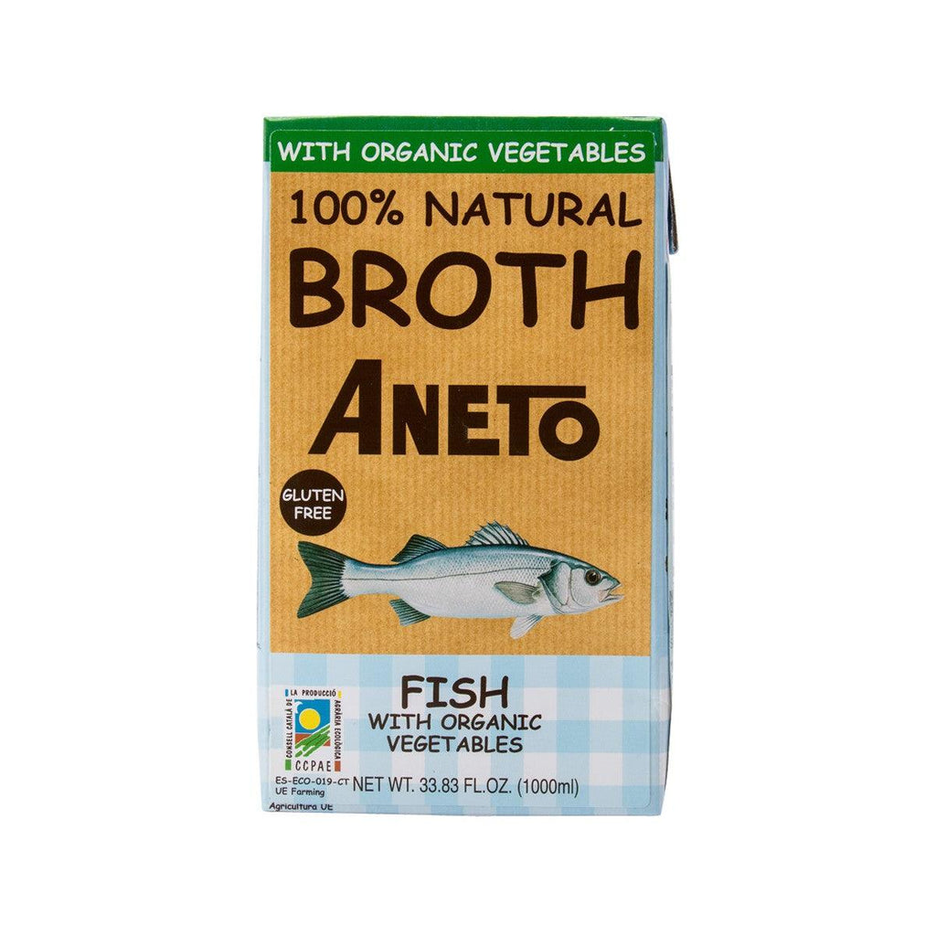 ANETO Fish With Organic Vegetables Broth  (1000mL)