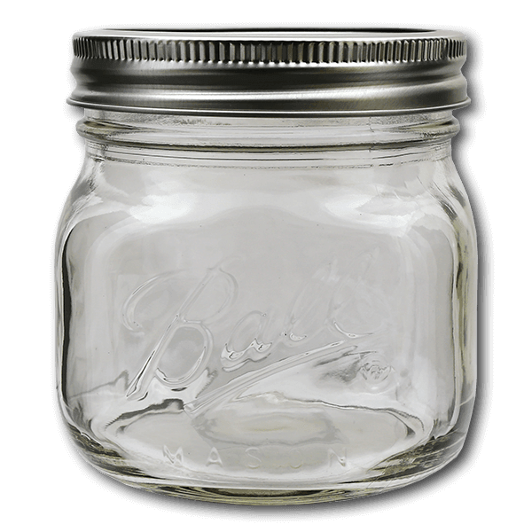 BALL Ball Collection Elite Wide Mouth Jar 16oz