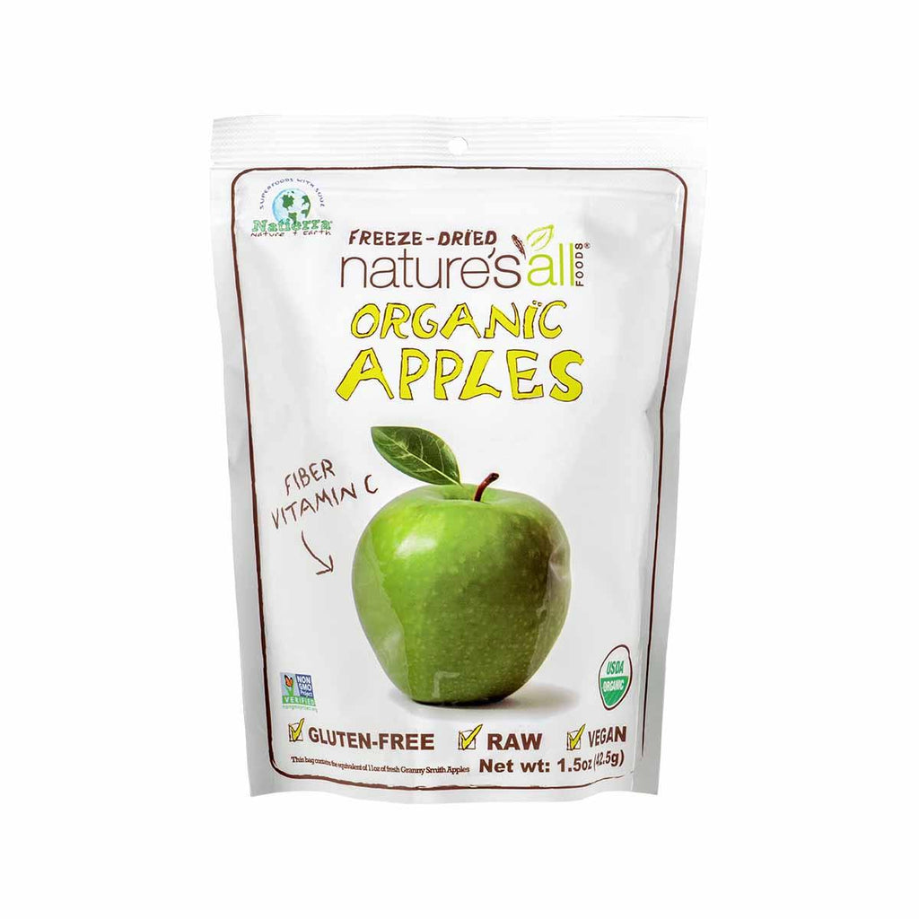 NATURE'S ALL Organic Freeze-Dried Apple  (43g)